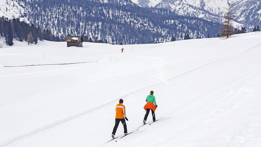 Holiday in the Dolomites for cross-country skiing - cover