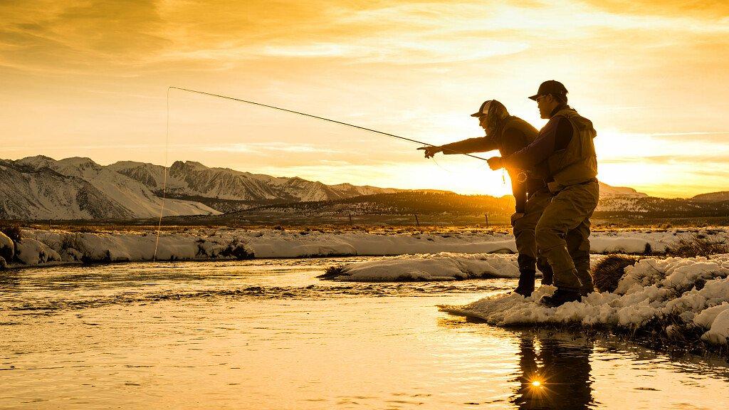 Pescare sulle Dolomiti diventa realtà - cover