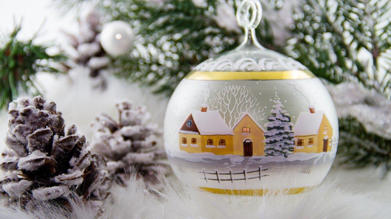 Pallina decorativa di Natale