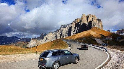 Autotouren in den Dolomiten