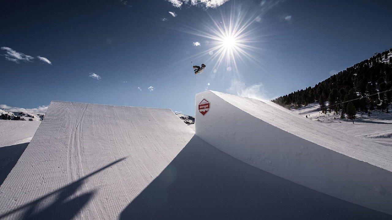 Snowpark in Obereggen