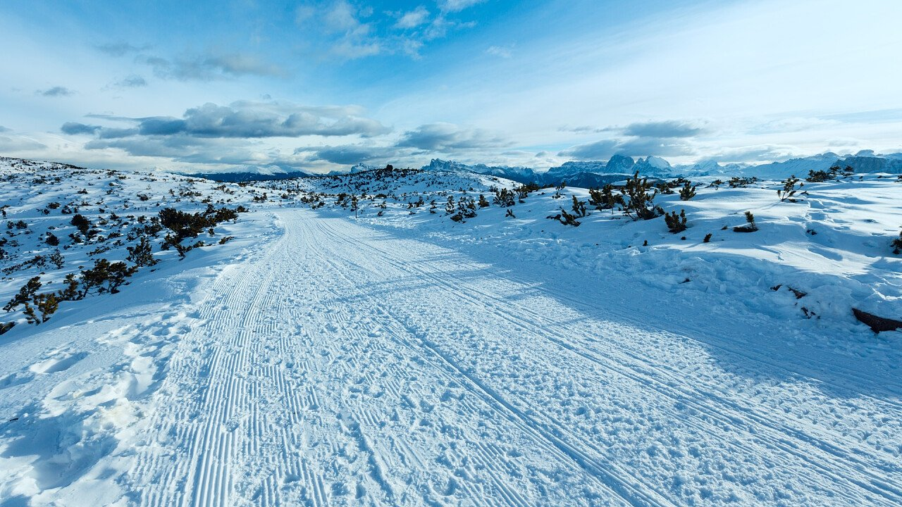 Inverno sul Corno del Renon