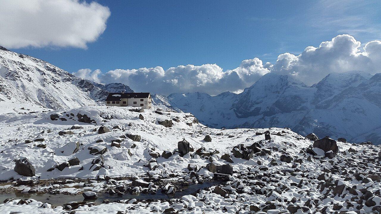 Inverno al Rifugio Serristori Solda - Trafoi