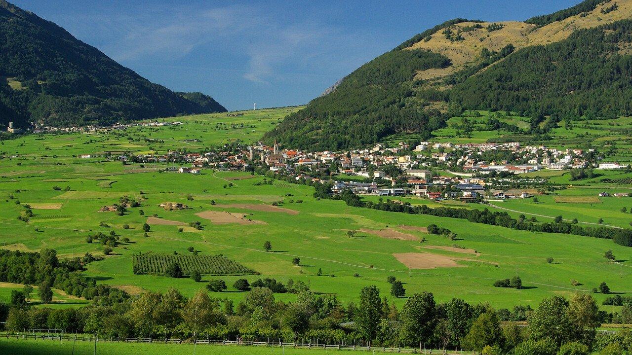 Passo Resia in estate