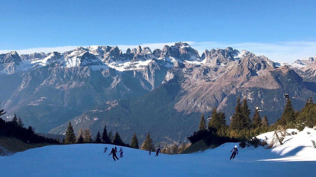 Piste da sci a Fai della Paganella