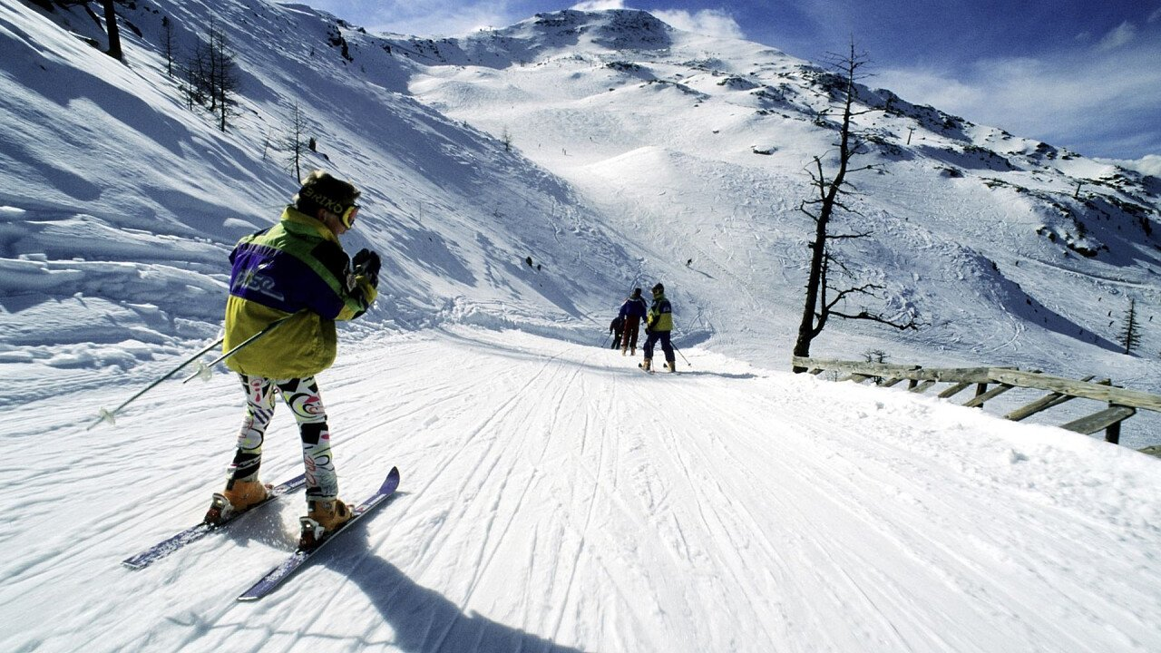 Skiing in Val d'Ultimo