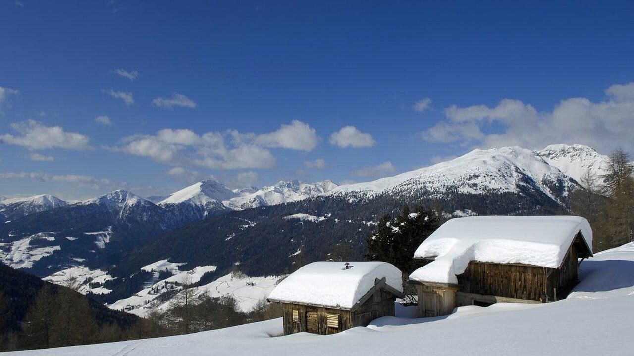Val Sarentino in inverno