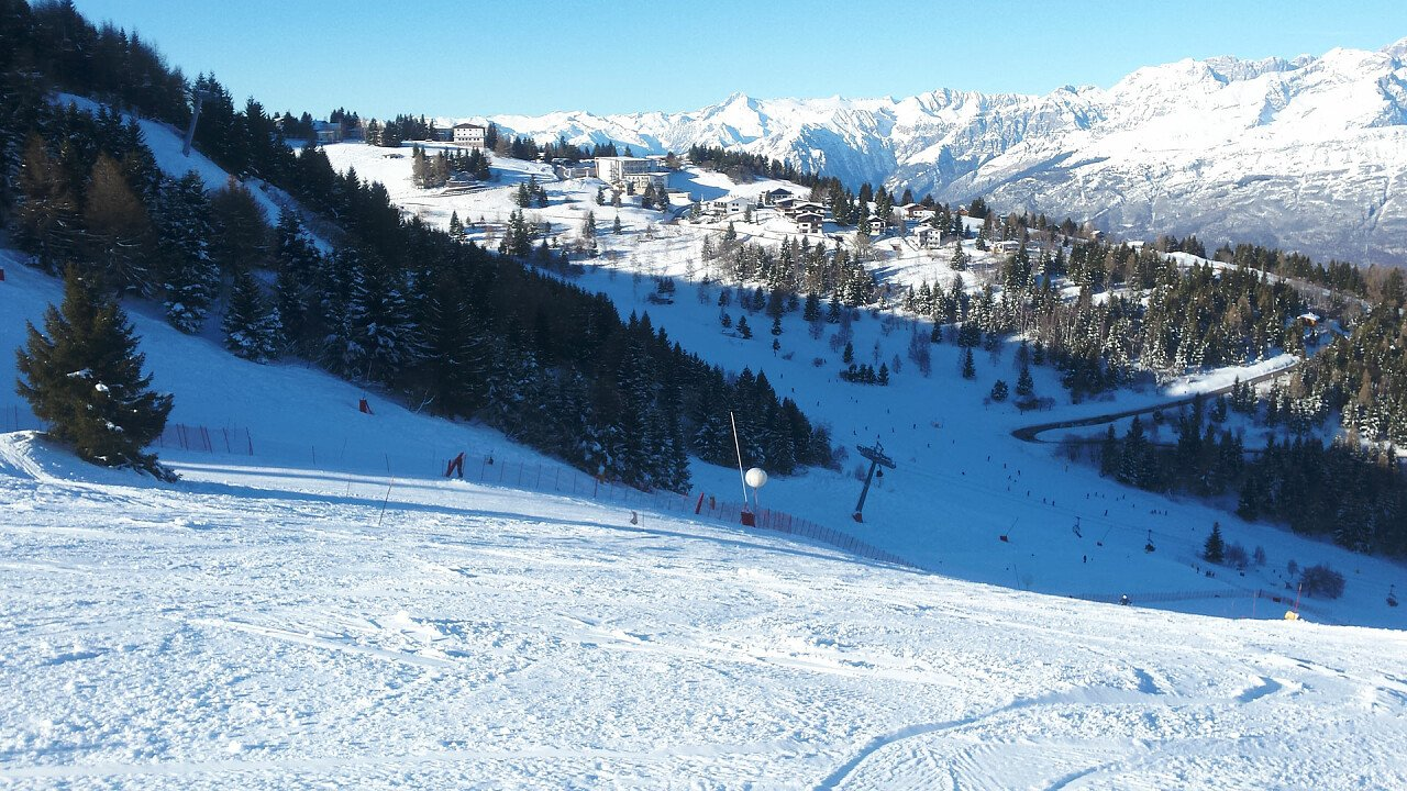 Ski area Monte Bondone