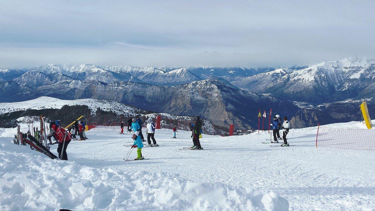 Sciare sul Monte Bondone