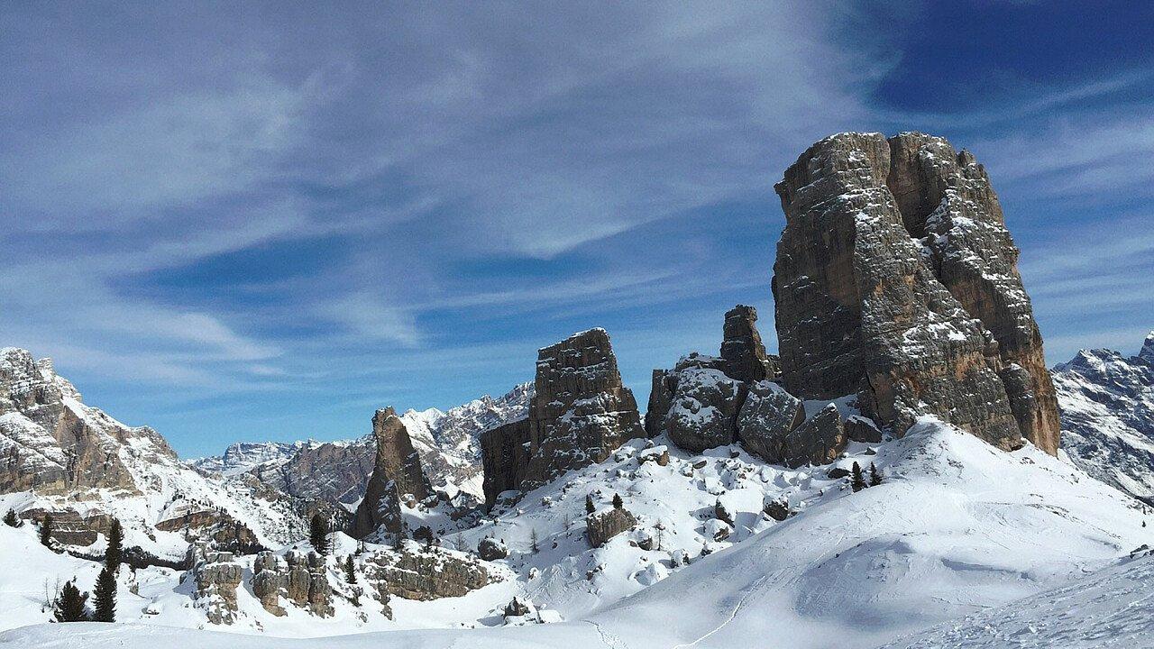 5 Torri a Cortina in inverno