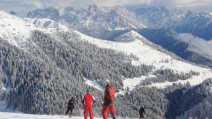 Montagne innevate in Valsugana