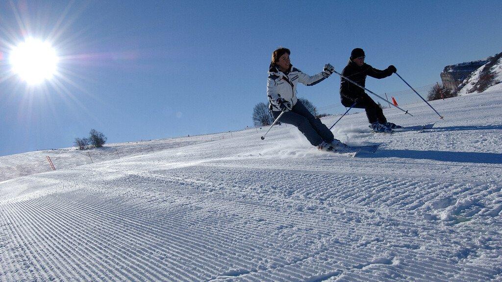 Skifahren auf dem Hochebene von Brentonico-Polsa - cover