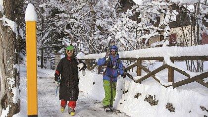 Gara sci alpino in Alpe Cimbra
