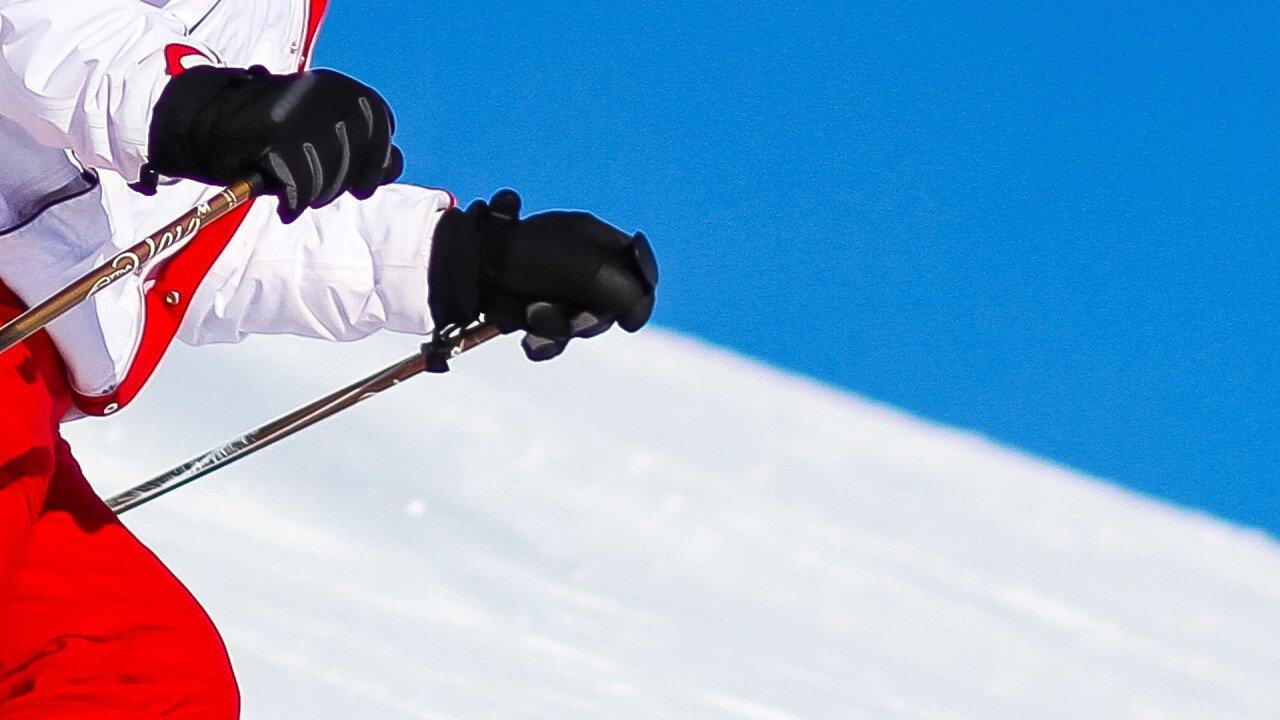 Sciatore in Comelico