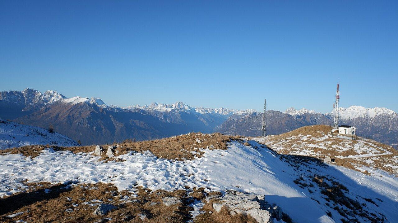 Inverno sul Nevegal