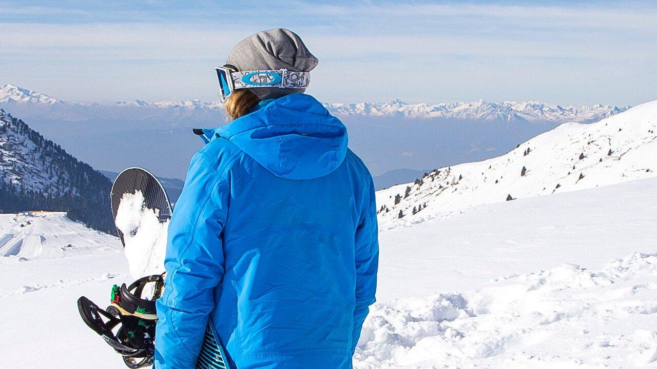 Snowboarder Monte Avena